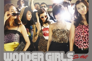 Leaked cover for Wonder Girls new single, \\
