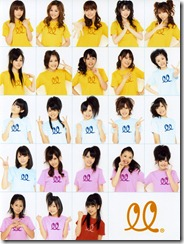 The CORE groups / one soloist of Hello! Project 2009. I miss my Elder Club T___T...